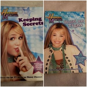 Other - 🌷Hannah Montana Set of 2 Books